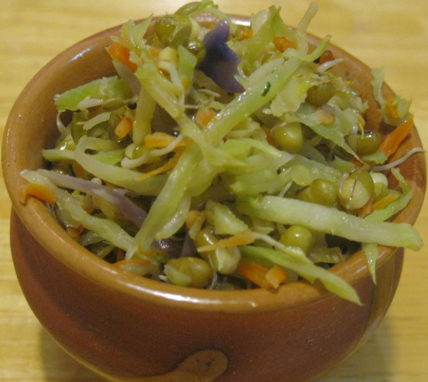 how to make sprouted mung bean soup