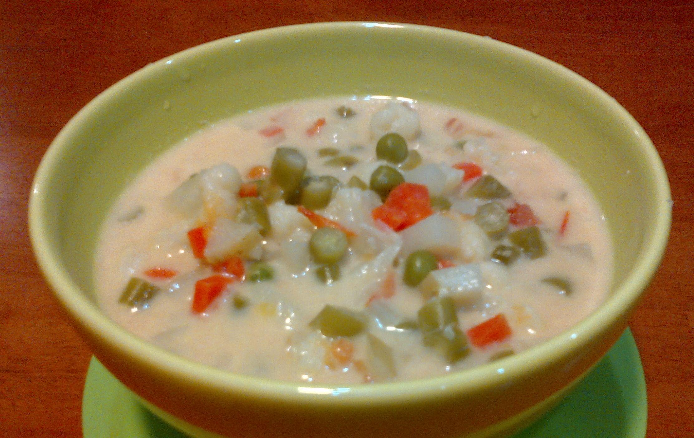 'Blanquette de légumes' - aka Vegetable Stew!